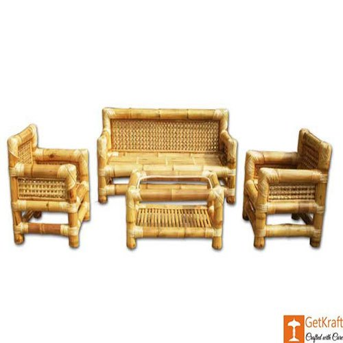Natural Bamboo Sofa Set Rs 33000 Set Xcraft Online Private