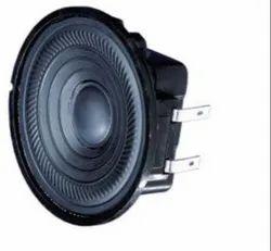 Black Visaton Automotive , Medical , Waterproof , Min Speakers And Buzzers, K 50 Wp - 8 Ohm, Size: 1.969 Dia (50.00mm)