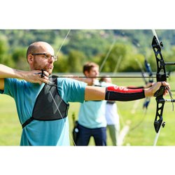 Blue Chest Guards Archery