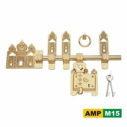 AMPS Brass AMP M15 Manichitram Lock
