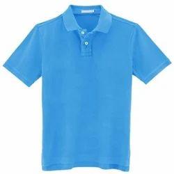 Men's Cotton Plain Polo T-Shirt