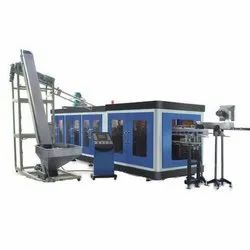 4 Cavity Fully Automatic Pet Stretch Blow Molding Machine