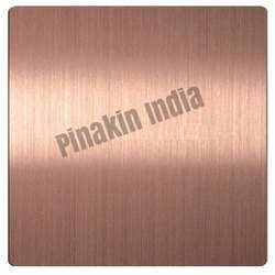 Stainless Steel Rose Gold Hairline Sheet
