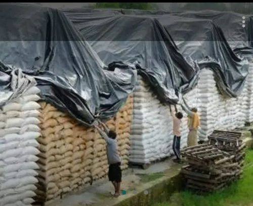 Black Fumigation Cover for Food Grain Storage