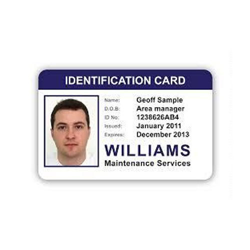 piece Id 75 Pvc Sas 20013777388 Card Rectangular Company Id Rs Enterprises