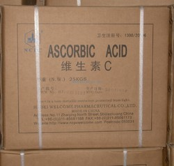 China Vitamin C Ascorbic Acid, 25 Kg