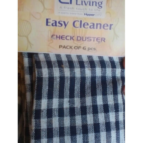 Easy Cleaner Check Duster Cloth