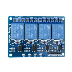50 Pcs 5v 4 Channel Relay Module