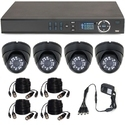 CCTV 4 Dome IP Camera Kit
