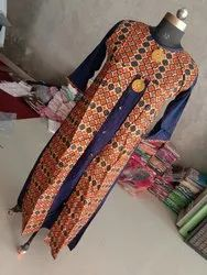 Reyon Party Wear Kurti, Handwash