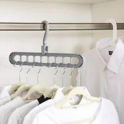 Multi Utility Space Saving Cascading Closer Clothes Organizer Hanger