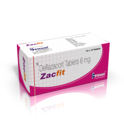 Zacfit Tablets, Packaging Size: 10x10, 500 Mg