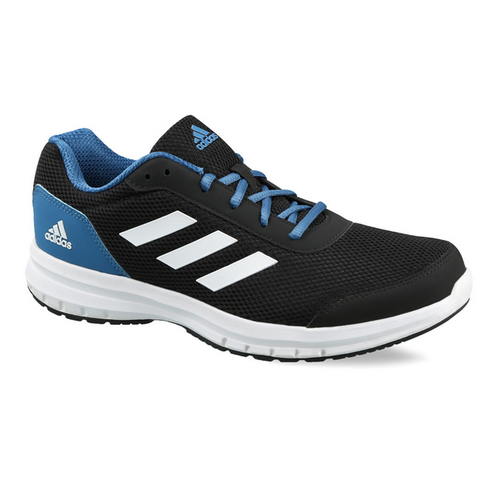 black and blue adidas shoes