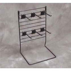 Double Display Cloth Rack Shelving Stand