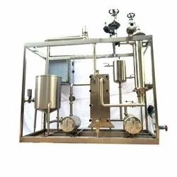 Milk Heating Skid