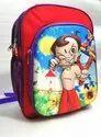 "Red Unisex School Bag, Size/dimension: 16""12""6"""