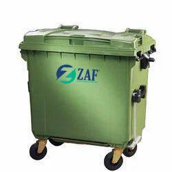 1100 liter 4 Wheeled Garbage Bin