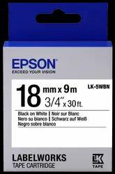 Epson LK-5WBN Tape