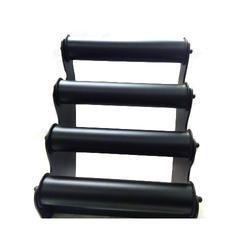 ABS Plastic Black Bangle Display Stand Four Line
