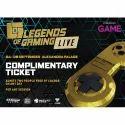 Ivaanshi Printed Gaming Tickets, Packaging Type: Box