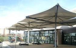 Entrance Canopy Tensile Membrane Structure