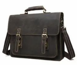VIP Leather Laptop Bags, Capacity: 12 Kg Weaight