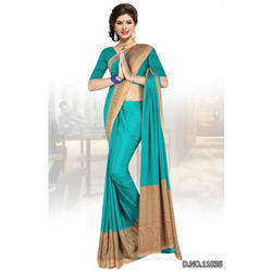 italian silk uniform sarees