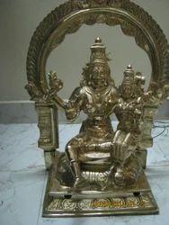 Sri Swana Akarshana Bhairavar 18 Inches Panchaloham