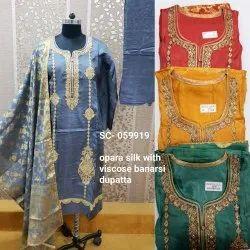 Banarasi Dupatta Suit