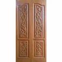 Solid Designer Teak Wooden Door