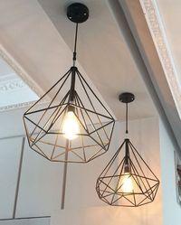 Vintage Cage Lamp
