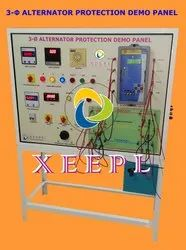 Numerical Differential Protection of Alternator Demo Panel