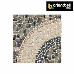 Orientbell Pav Tomby Grey Car Parking Tiles, Size: 300X300 mm