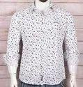 Cotton Multicolor Dj Men Printed Shirts