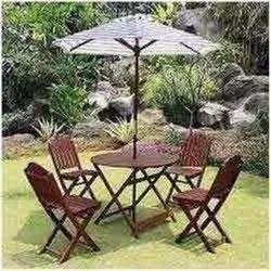 Center Pole Garden Umbrella