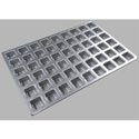 54 Cavity Square Muffin Tray
