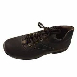 Brown Casual Wear Mens Durable Rexine Shoes, Size: 6-10