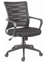 Fabric Office Staff Chair With Adjustable Arms