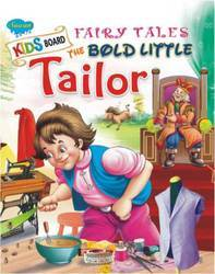Kids Board Fairy Tales The Bold Little Tailor Book