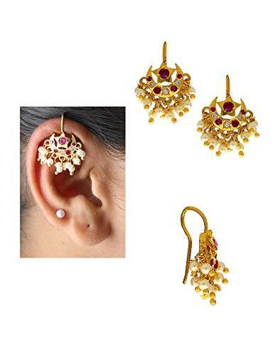 7a921ec3f Silver Antique Gold Plated Earring Bugadi, Rs 999 /pair   ID ...