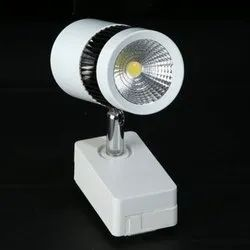 Plastic Warm White 9W LED Track Light for Indoor