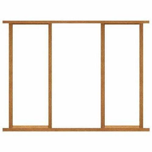 Rectangular Wooden Window Frame, Dimension/Size: 6 Feet * 4 Feet, Rs ...