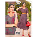 Ladies Kurti With Belt