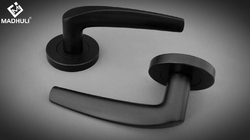 Curve Matt Black Lever Handle