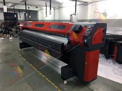 Flex Banner Solvent Printer