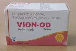 Doxylamine Pyridoxine Folic Acid Tablet