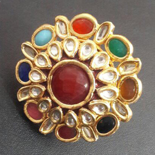 Stylish Kundan Ring at Rs 150 piece