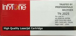 BROTHER TN 2025 (TN 2025) Compatible Black Toner Cartridge For Brother Printers