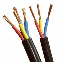Polycab Black PVC Multi Core Flexible Cable, Size: 1 Mm