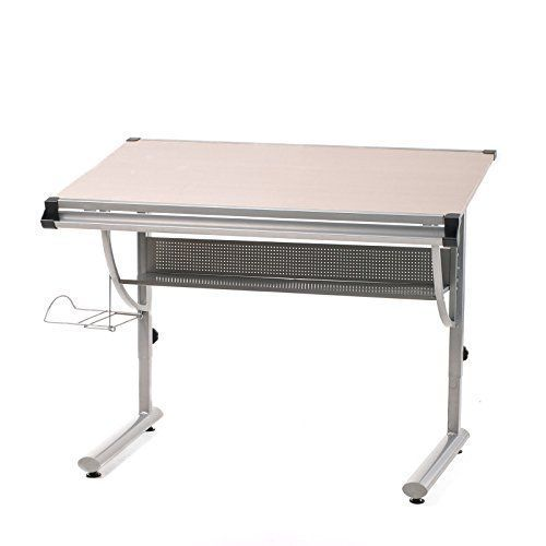 Modern Steel Study Table, School, College